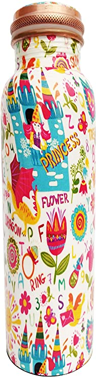 PRURA Copper Water Bottle A Leak Proof Ayurvedic Pure Copper Vessel