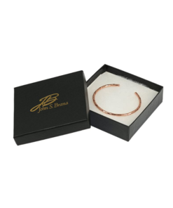 Lightweight 100/% Uncoated Solid Copper Hammered Copper Cuff Bracelet Durable Copper